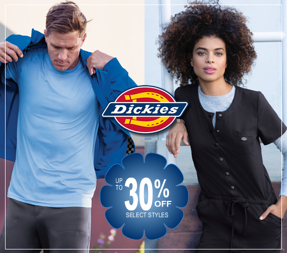 dickies medical scrubs - up to 30% OFF select styles!!
