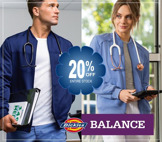 Dickies balance scrubs - 20% OFF