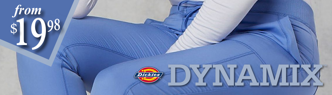 dickies dynamix scrubs