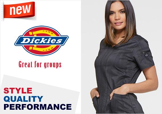 dickies medical scrubs