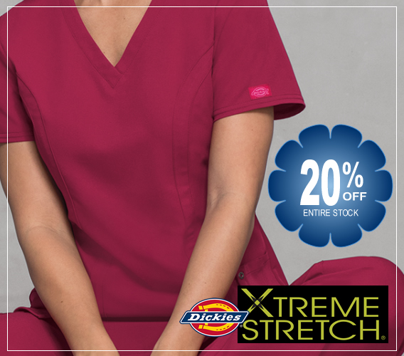 Dickies Xtreme Stretch scrubs - 20% OFF