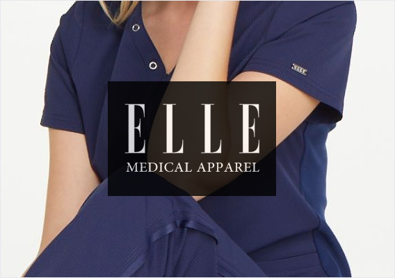 ELLE medical scrubs