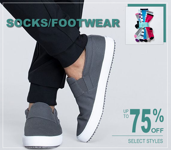 Nursing shoes, socks