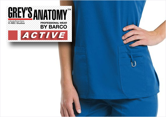 GREYS SCRUBS - ACTIVE