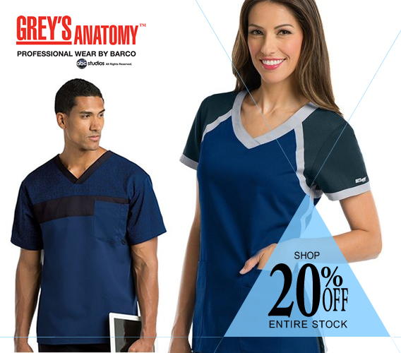 Grey's Anatomy Scrubs - 20% OFF