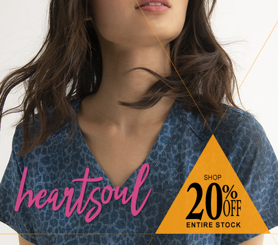 Shop HeartSoul scrubs - now 20% OFF