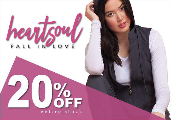 heartsoul scrubs - 20% OFF