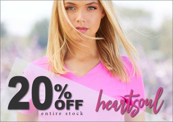 20% OFF Heartsoul scrubs