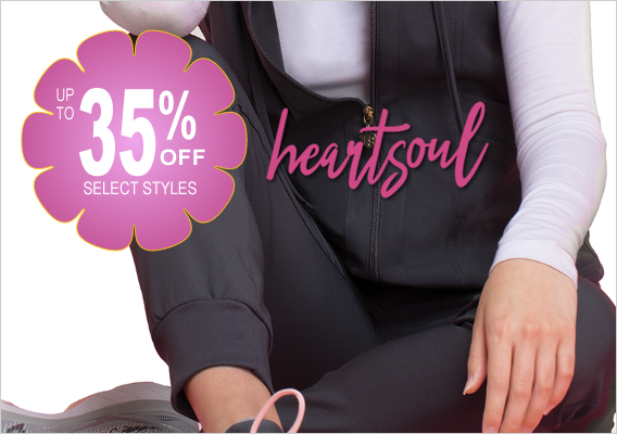 heartsoul scrubs - up to 35% OFF
