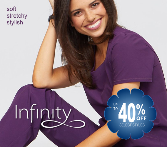 infinity scrubs - up to 40% OFF