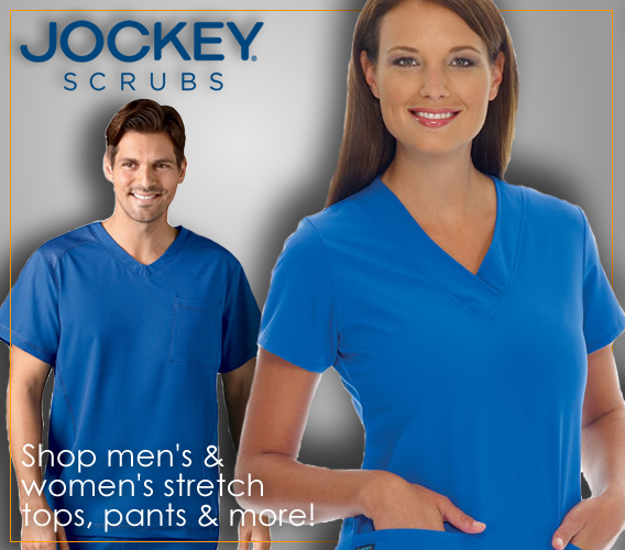 Jockey brand uniforms and scrubs