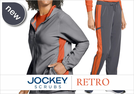 New RETRO Jockey scrubs