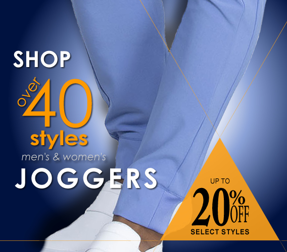 Shop over 40 styles of mens and womens jogger style scrub pants by your favorite uniform brands