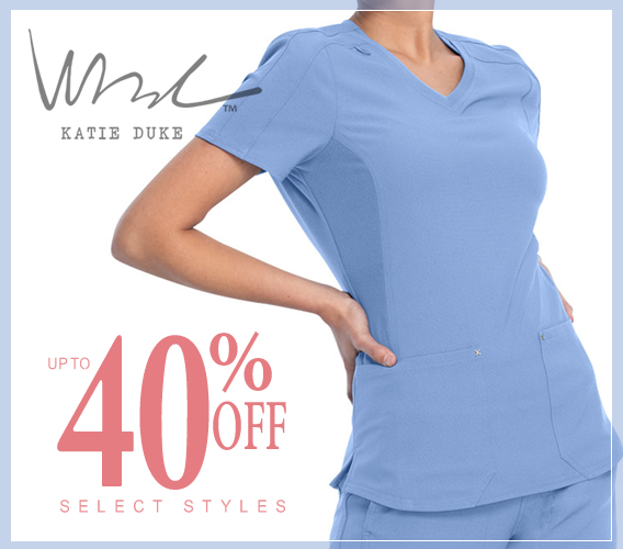 Shop Katie Duke uniforms and scrubs - uo tp 40% OF select styles