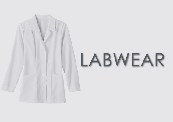 Top Brand Men's and Women's labcoats - embroidery availalbe on Landau and Meta styles
