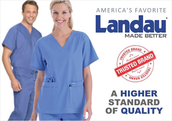 landau brand nursing uniforms and medical scrubs