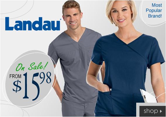 Shp new Landau scrubs from $15.98!