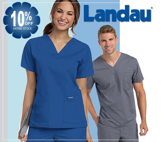 Shop and buy Landau brand uniforms and scrubs for men and women online @ a1scrubs.com!