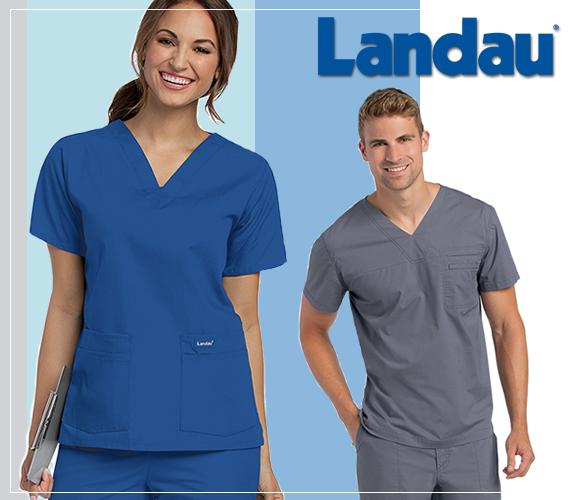 Shop online and buy Landau brand medical scrubs and nursing uniforms for men and women!