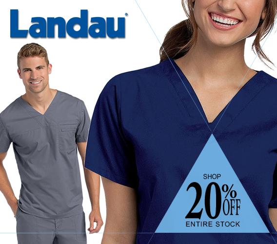 Shop Landau brand uniforms and scrubs