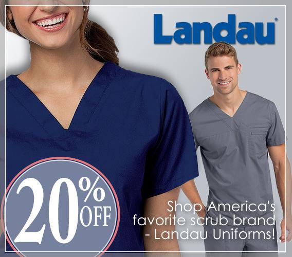 Shop Landau scrubs and get 20% OFF