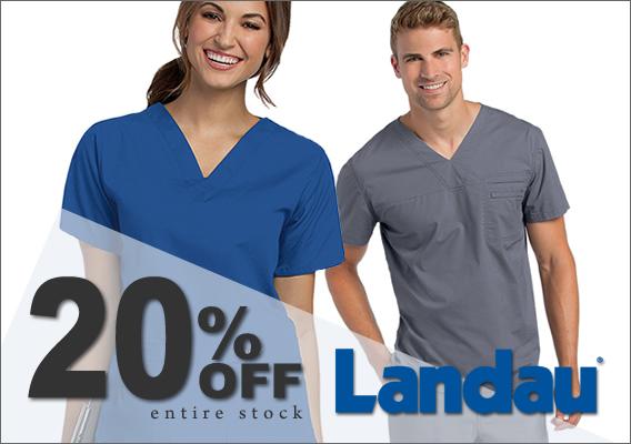 landau brand uniform and scrubs - 20% OFF