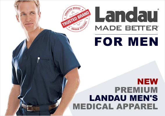 Landau mens uniforms and scrubs