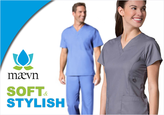 maevn brand uniforms and scrubs
