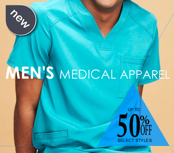 top men's medical scrubs and uniforms