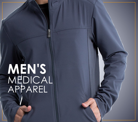 top men's medical scrubs and uniforms