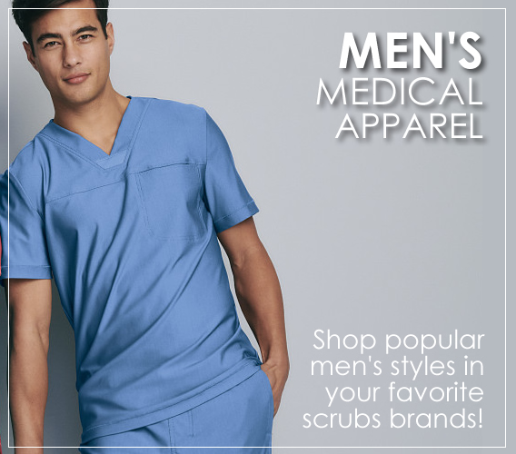 Shop Men's scrub tops, pants, jackets and labwear and take advantage of these great discounts.