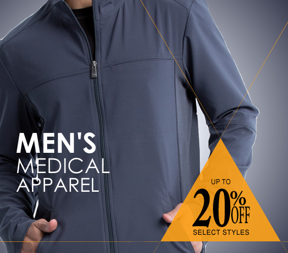 Shop Mens medical and nursing uniforms and scrubs on sale up to 20% OFF select styles