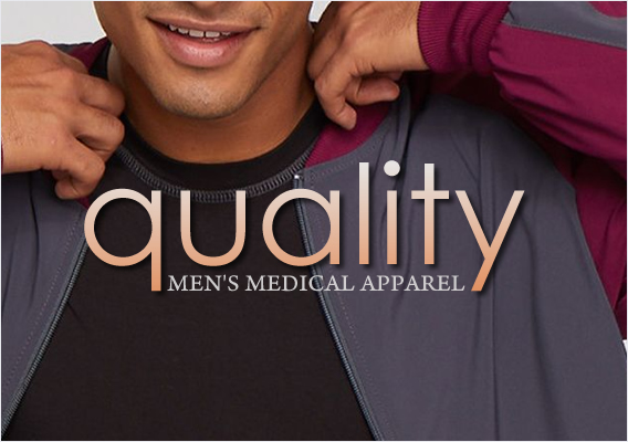 Quailty men's medical scrubs