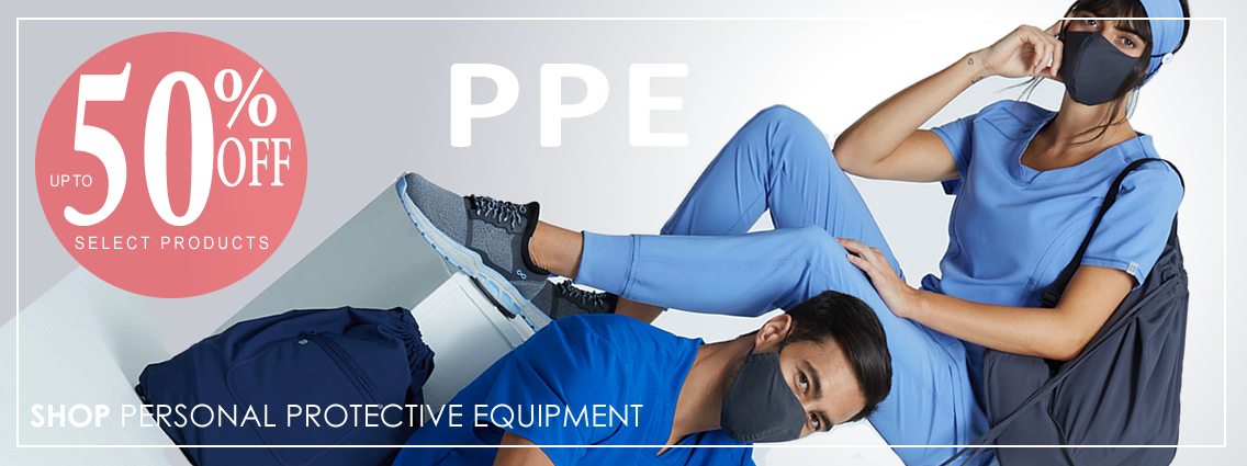 Shop PPE and save - up to 50% OFF select products!