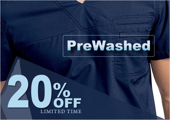 pre washed scrubs