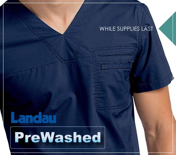 Landau prewashed uniforms and scrubs