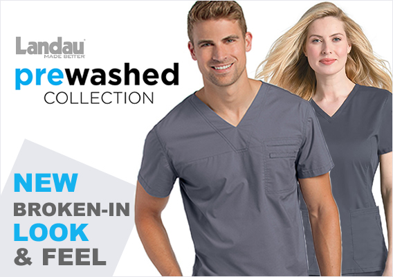 Landau prewashed scrubs are awesome!