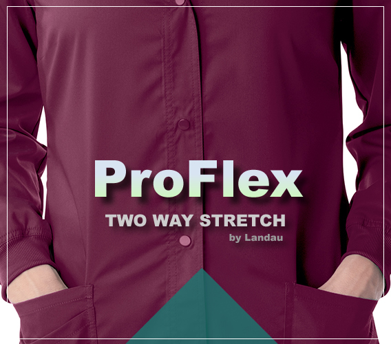 Landau ProFlex uniforms and scrubs