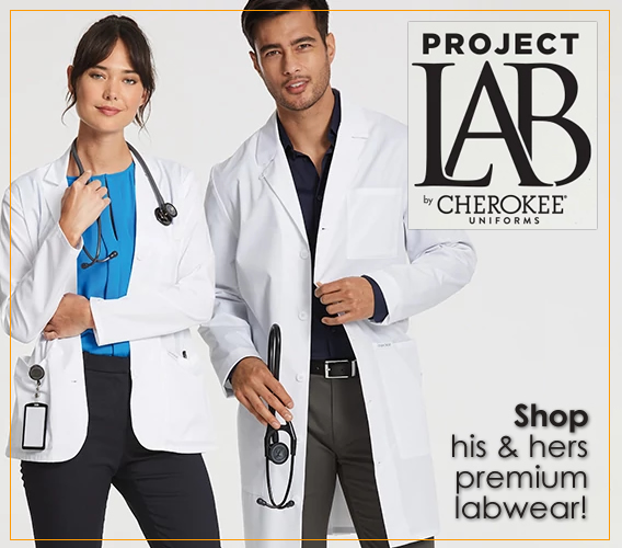 PROJECT LAB - Premium labwear by Cherokee Uniforms