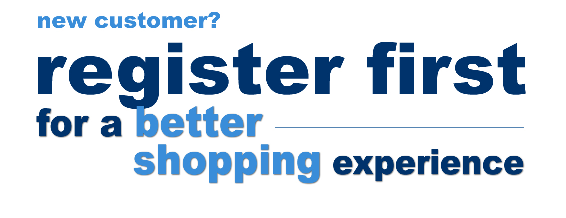 register first - it's free and easy and makes shopping way more fun!