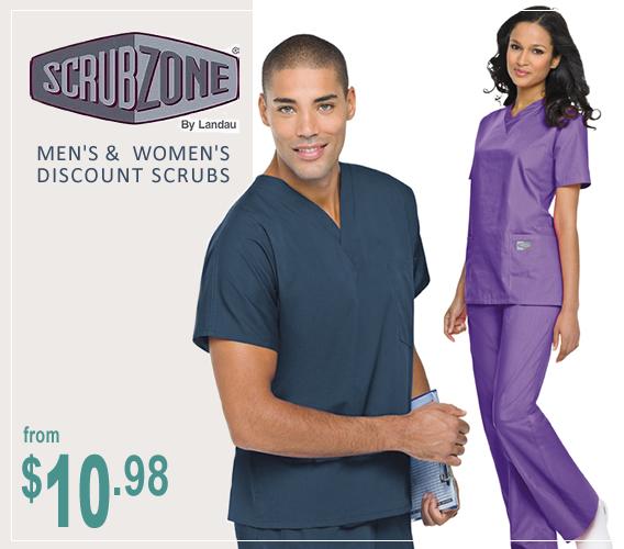 Landau Scrub Zone scrubs