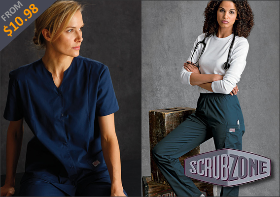 New Landau Scrubs Zone Scrubs!