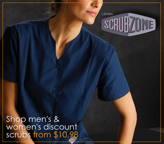 Shop NEW Scrub Zone medical uniforms and scrubs - also great for Teachers!