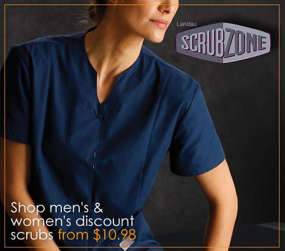 Landau Scrub Zone uniforms and scrubs
