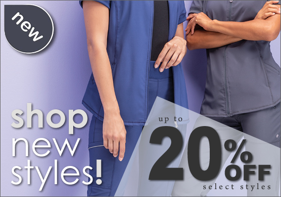 up to 20% OFF select styles