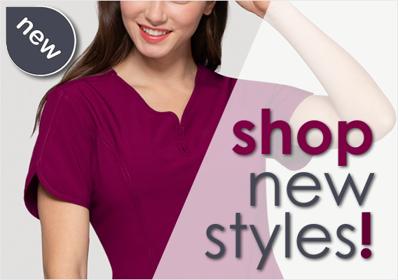 Shop new styles of nursing scrubs and uniforms