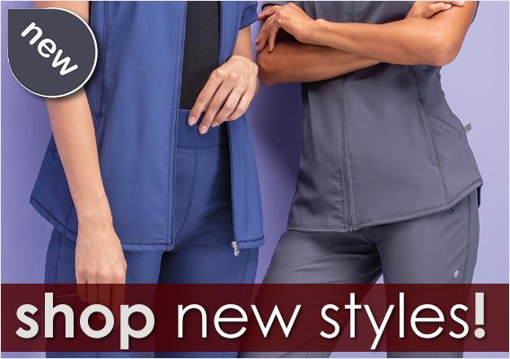 shop new scrub styles here!
