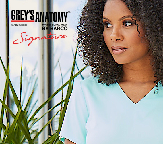Signature scrus by Grey's Anatomy