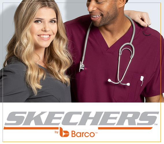 Skechers brand uniforms and scrubs