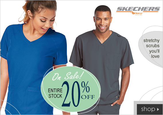 shop skechers scrubs and save 20% OFF